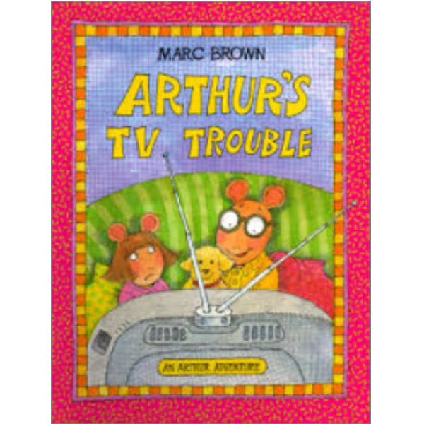 "I first discovered  Arthur  on PBS but it didn't take me long to discover the books by Marc Brown. It's neat to see how the illustration style changed over the years. You'd never know that Arthur and his family are aardvarks from the cartoon.   Normally I'm not a fan of characters who are animals having pets, but I'll make an exception for Arthur.   Plus, the TV has probably the best song about libraries that I've ever heard, "" Having Fun Isn't Hard When You've Got a Library Card ."" Awesome."