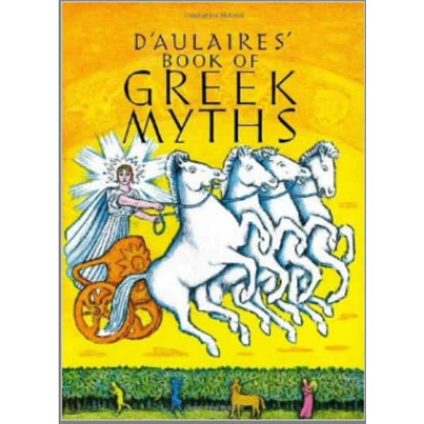I've read a lot of Greek myths both in Greek and in English. In fact, mythology was a big part of what I studied in university.   D'Aulaires' Book of Greek Myths   is a great book for kids. All those gods, goddesses, heroes and monsters can get confusing but this book really brings them to life. I learned a thing or two myself.