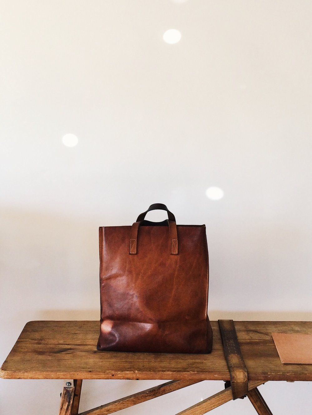 leatherpaperbag