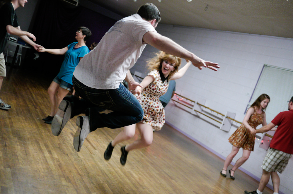 Discover the joy of swing dancing because   Anyone can dance    Learn more