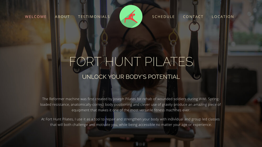 Fort Hunt Pilates Website