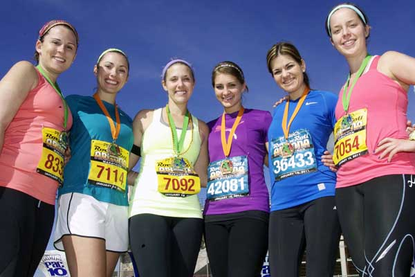Students Run Rock 'N' Roll Marathon to Help Children