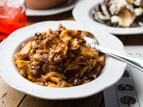BLOOMBERG January 6, 2015 The Paleo Burger Speaks Italian at Via Carota: Review