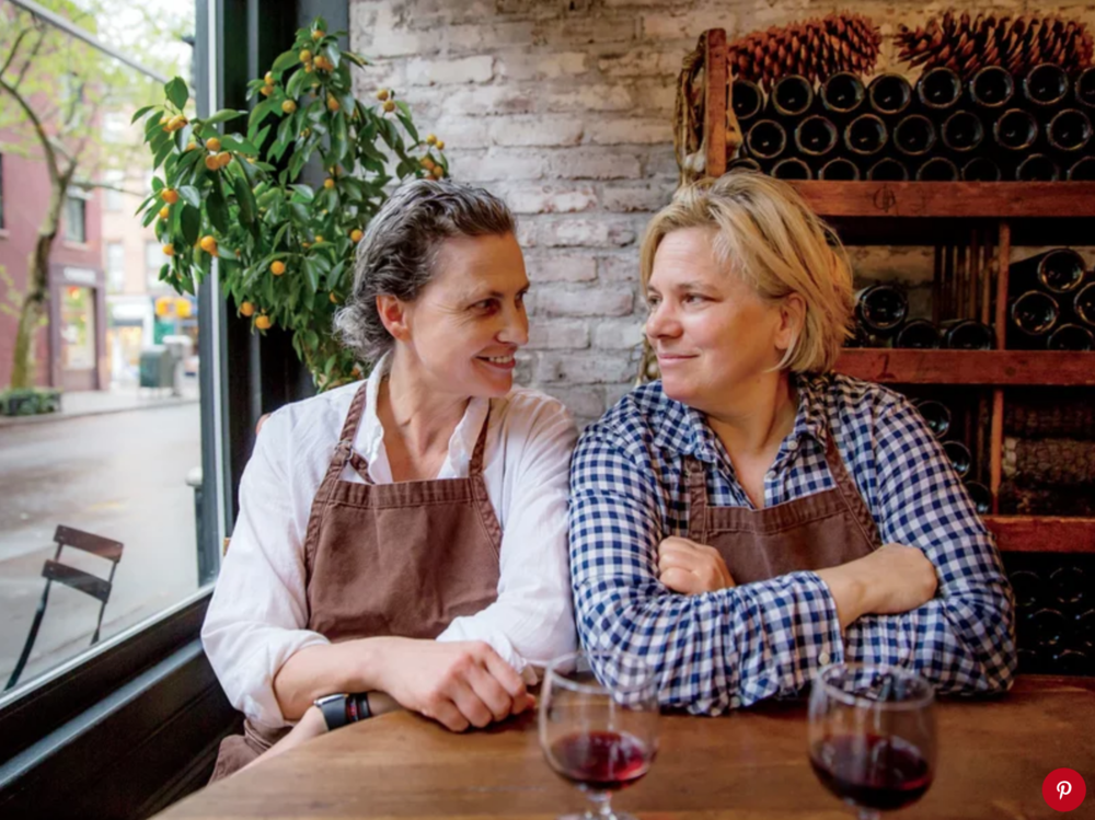 FOOD & WINE  February 19, 2019   How Rita Sodi and Jody Williams Created Some of New York's Most Beloved Dining Spaces