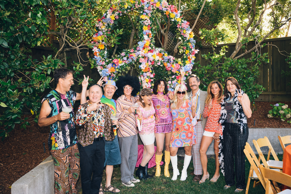Andrea's Groovy 50th