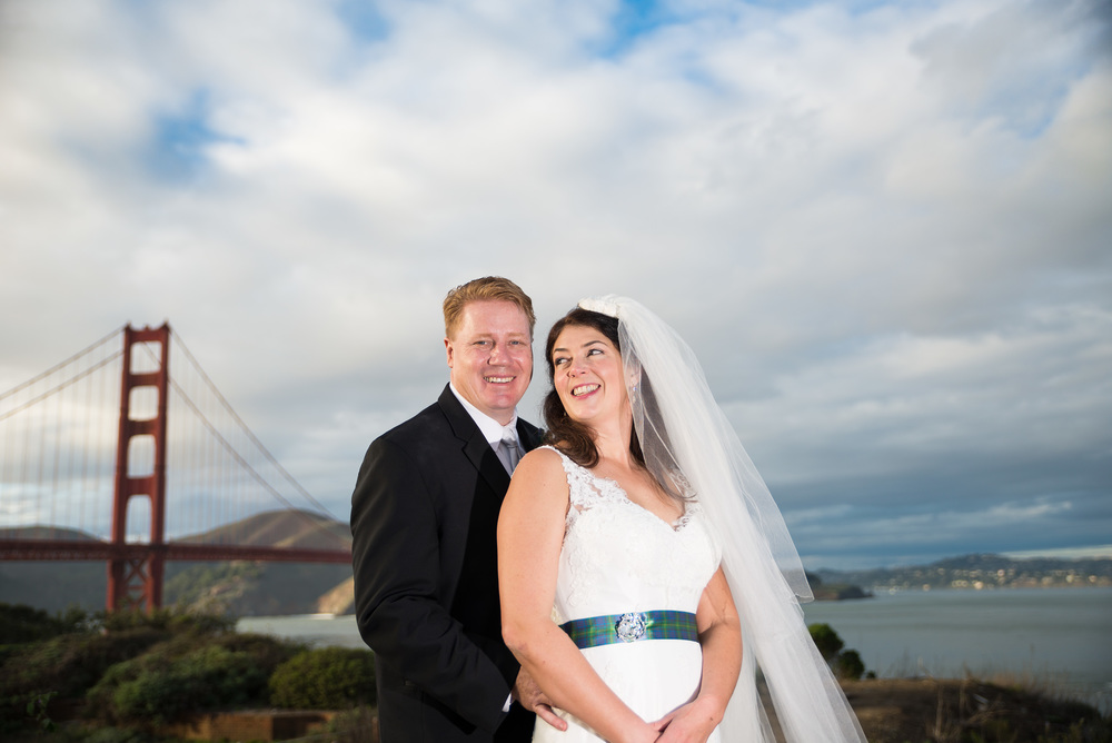 Marisa & Larry in the Presidio, San Francisco