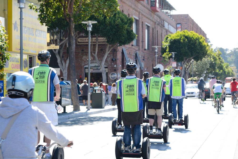 Oh those dang Segway tours!