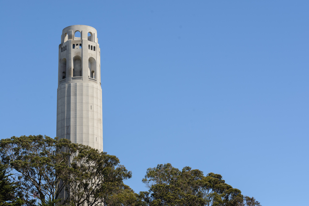 Up to Coit Tower...