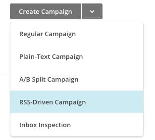 Mailchimp Create Campaign