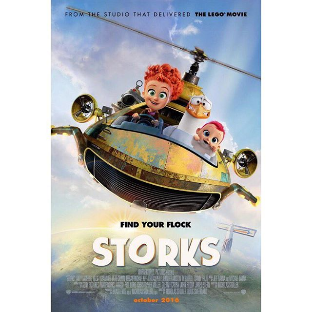 "Come and see ""Storks"" at the #paraburdoodrivein tonight."