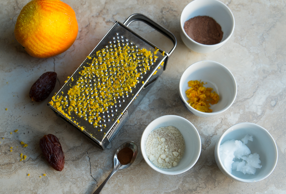 Chocolate orange truffles ingredients