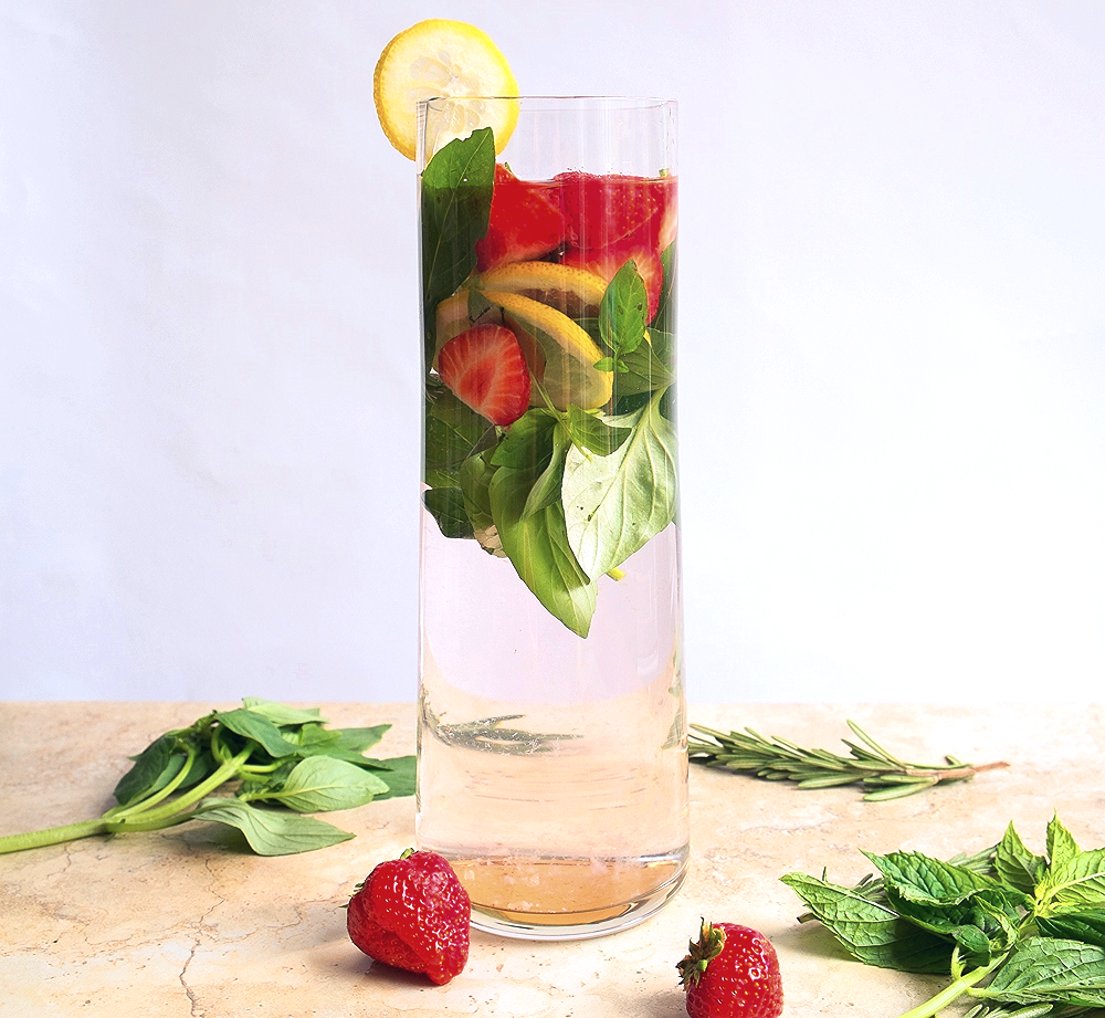 Strawberry basil lemon