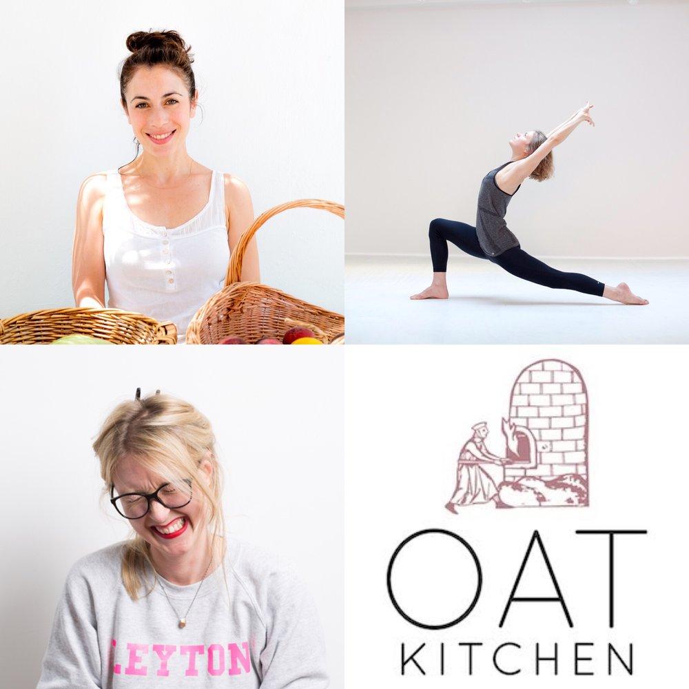 Clockwise from top left: Jodie Abrahams, Helen Stewart-Cox, OAT Kitchen, Anthonissa Moger
