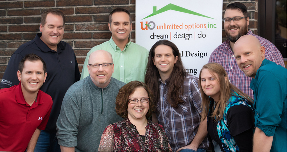 Meet the Team - Imagine the possibilities if you had Unlimited Options. UO's team focuses on helping you turn those possibilities and your house design dreams into the home where you want to live your life. Get to know the people who will help you get the most out of your home design investment and experience. With more than 125 years of cumulative experience, you're working with the nation's very best home plan designers.MEET YOUR DESIGN TEAM HERE…