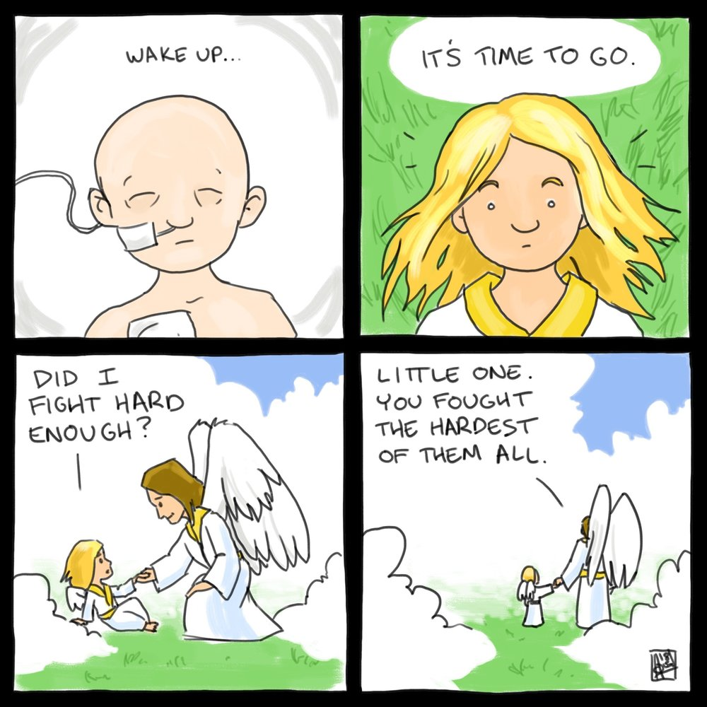 © I draw childhood cancer