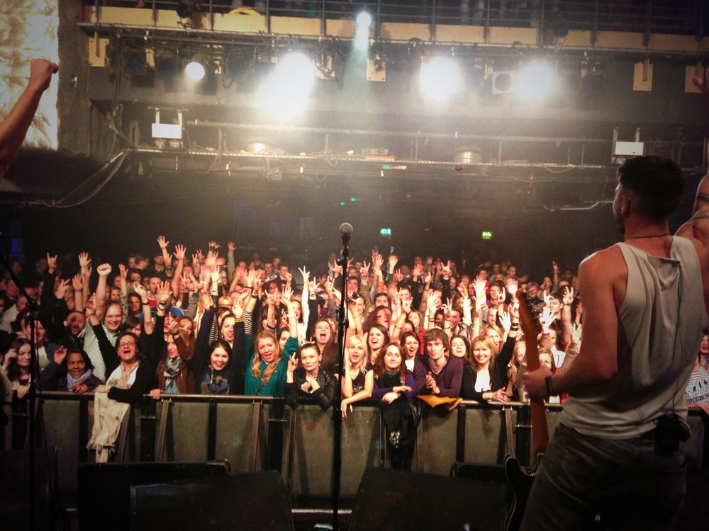 O2 Academy Islington crowd shot
