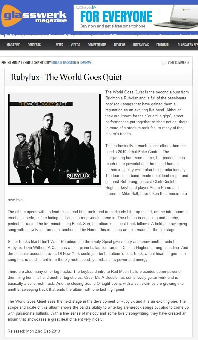 Rubylux - Glasswerk