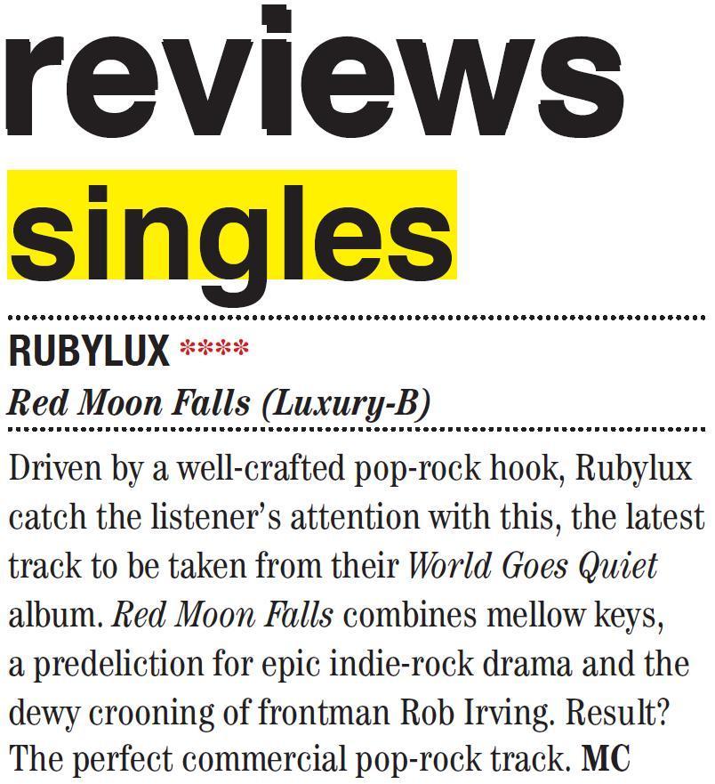 Rubylux - Buzz Magazine - 29052014
