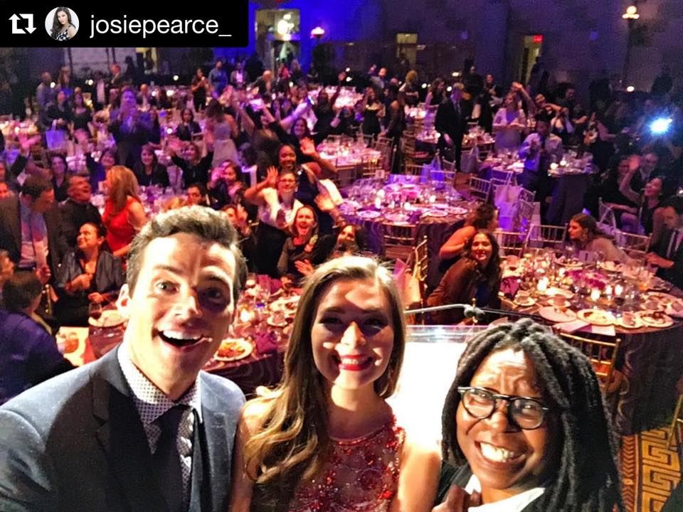 Lupus Foundation Ian Harding Whoopi Goldberg Selfie On A Stick