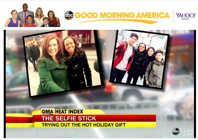 Click to watch Selfie On A Stick CEO speak with Good Morning America