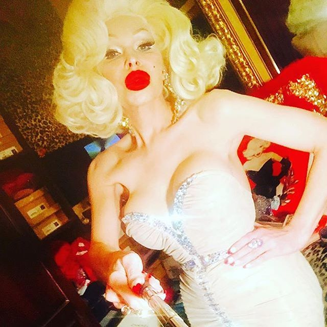 Hope you all had an amazing weekend! Repost @amandalepore ・・・ #amandalepore  #glamourgirl