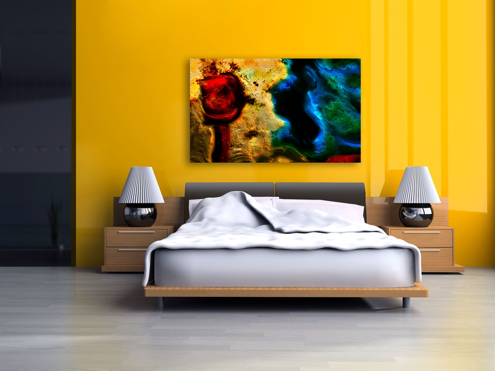 Asteroidal Passion - Large Canvas Art Display