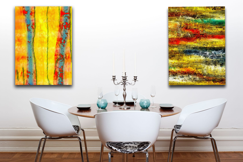 Verticality - Large Canvas Art Display