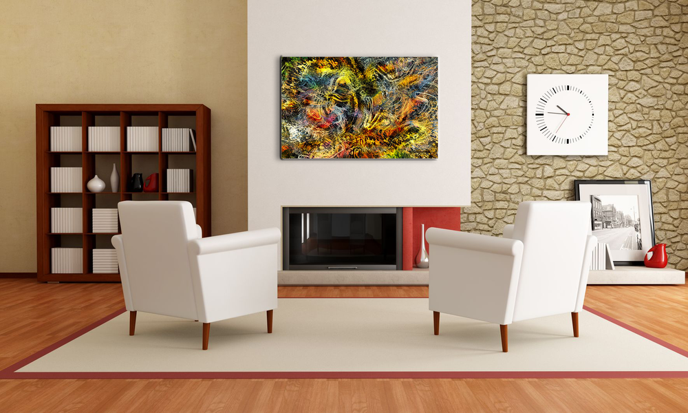 Explosion - Large Canvas Display