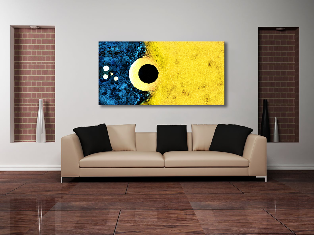 Impact - Large Art Canvas Display