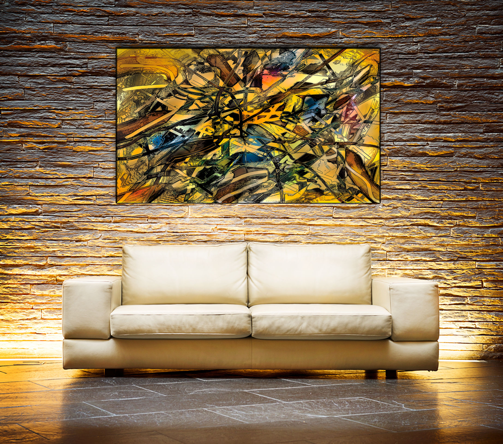 Entanglement - Large Canvas Art Display