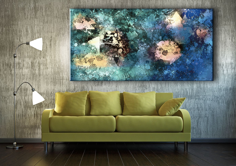 Evasive - Large Canvas Art Display