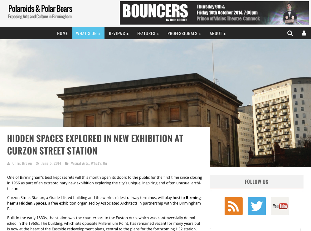 http://polaroidsandpolarbears.co.uk/whats-on/hidden-spaces-explored-new-exhibition-curzon-street-station/