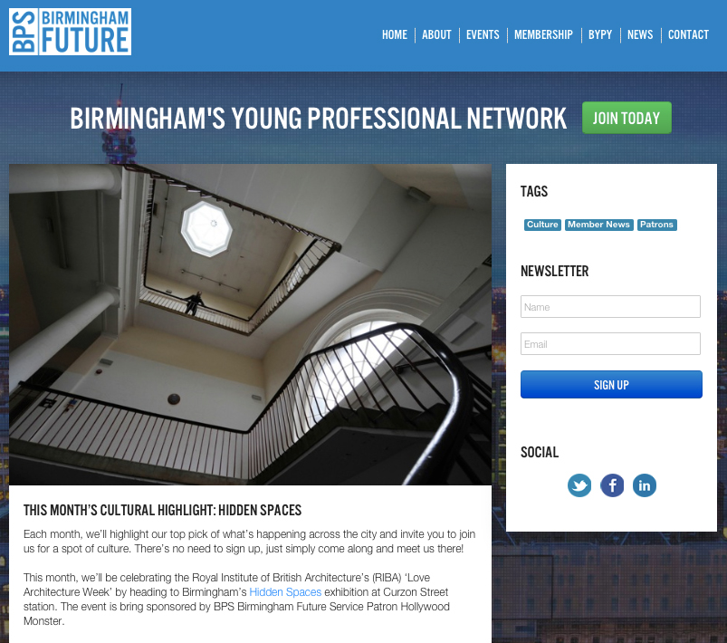http://www.birminghamfuture.co.uk/events/culturestop-private-view-of-hidden-spaces-exhibition-with-associated-architects/