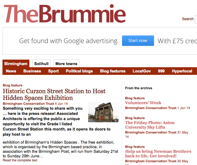 http://www.thebrummie.net/historic-curzon-street-station-to-host-hidden-spaces-exhibition/
