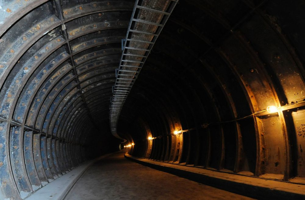 The tunnel between New Street Station and the Mailbox - Image: Birmingham Post