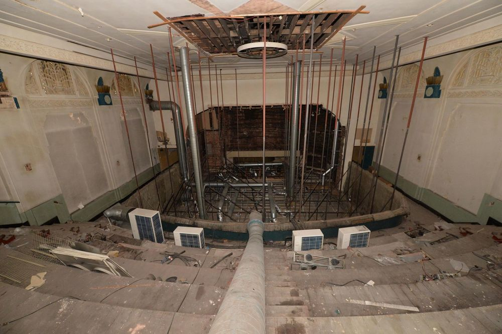 Inside the former ABC cinema, New Street - Image: Birmingham Post