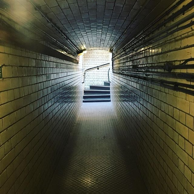 Complete opposite of #rooftoptuesdays - we're down underground. Any guesses? / #hiddenbrum #architecture #birmingham #brum #hiddenspaces