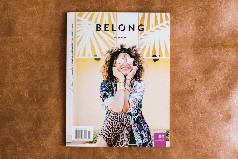 Belong Magazine Feature