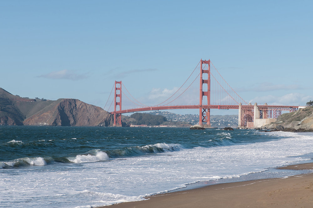 Baker Beach San Francisco Engagement Photography | White Quill Creative