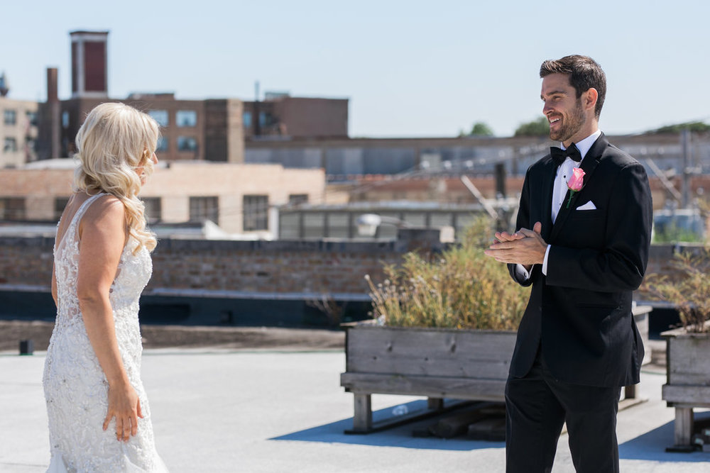 Room 1520 Rooftop Chicago Wedding