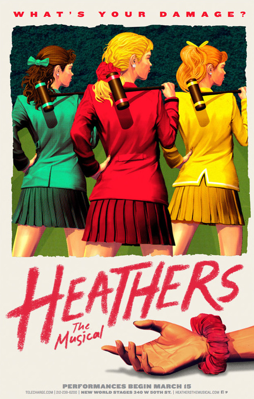 2 of 5 Heathers, main art Illustration: Tavis Coburn