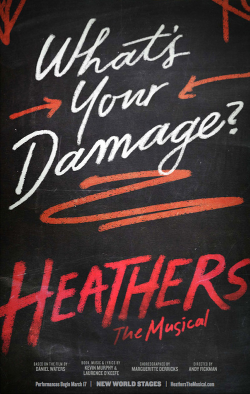 3 of 5 Heathers, teaser art