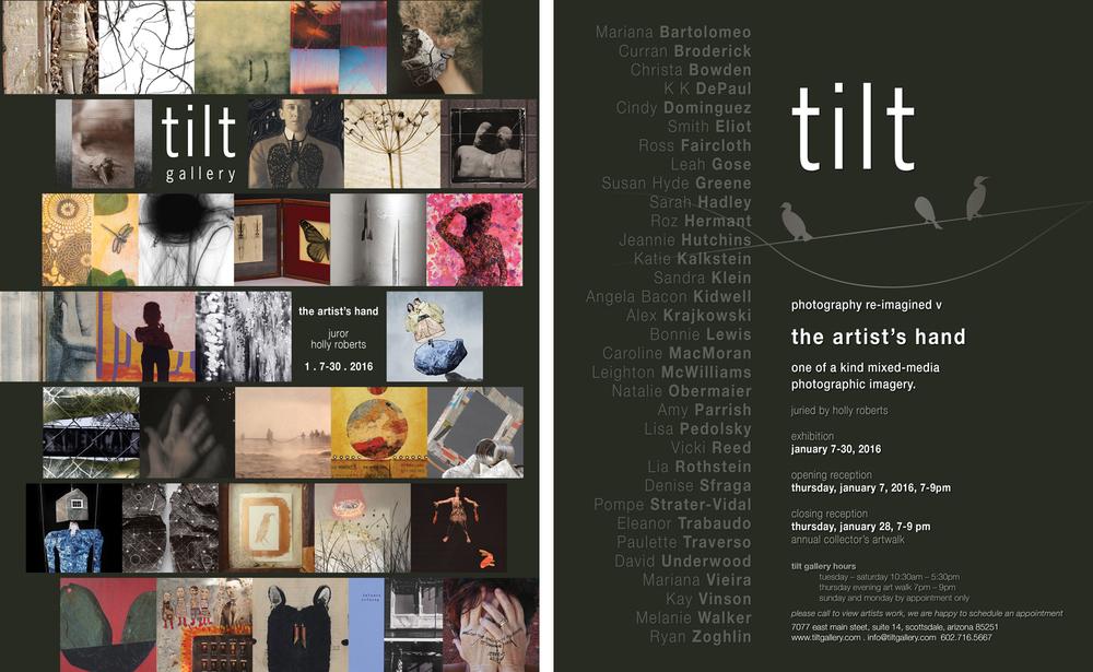 Tilt Gallery postcard