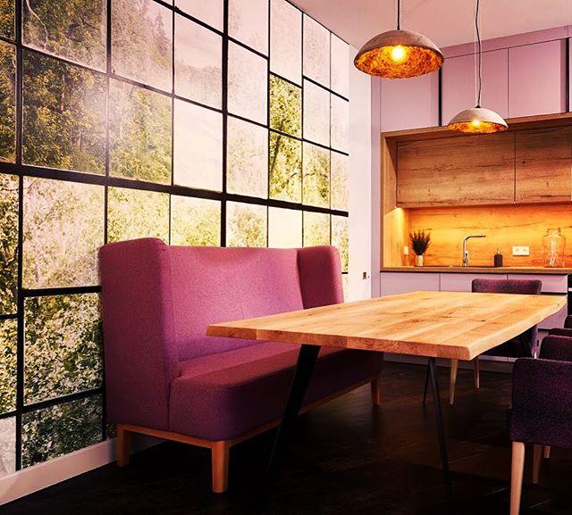 Photo wallpaper in the kitchen, made and papered by us! #interiordesign #design #wallcovering #wallpaper #interior #interiordecor #interiordesigner #leipzig #leipziglove #leipzighome #handwerk #leipzigliving #luxuryliving #luxurylifestyle #luxury #luxuryhomes #wallpaper #wallcoverings #decor #designerwallpaper #raumausstattung #vintage #shabbychic #oracdecor #wandbelag #decoration