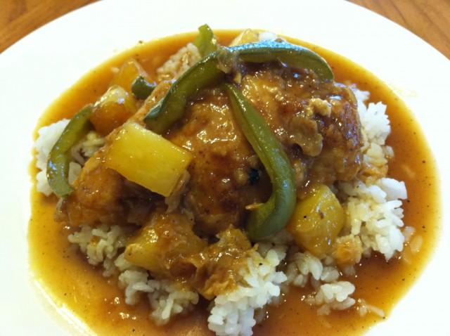 Polynesian Chicken — Blind Mom Blog