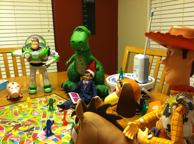 Image result for toy story elf on the shelf