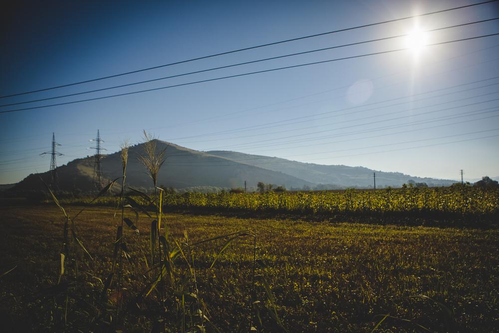 Transylvanian landscape.