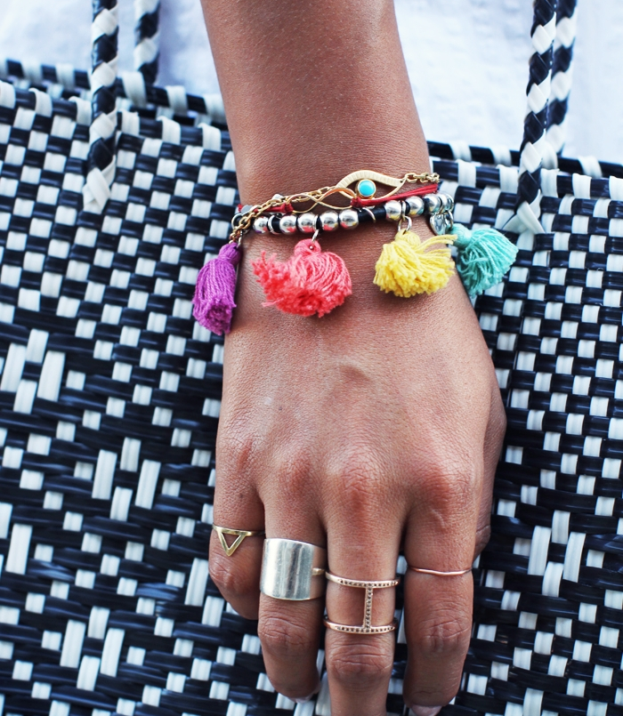 {Sincerely Jules tassel bracelet}