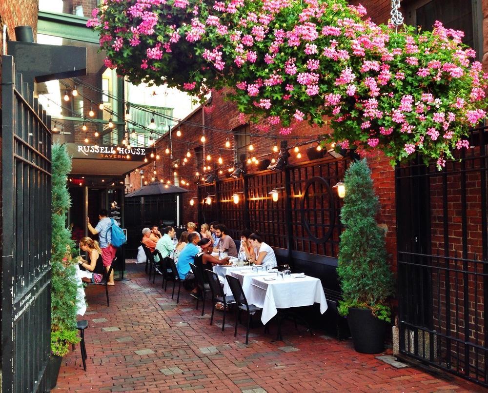{A dinner out in Cambridge at Russell House Tavern}