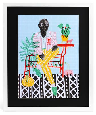 Gentleman Print, $40